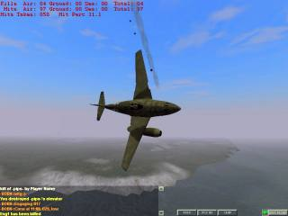 A bit late for 1940 - but an Me262 thats just lost an engine!