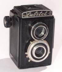 Photo of early Lubitel 2 TLR