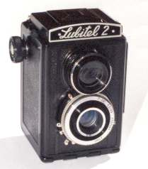 Photo of late Lubitel 2 TLR
