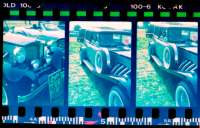 Section of half frame negative strip - made positive by Coral PhotoPaint 7