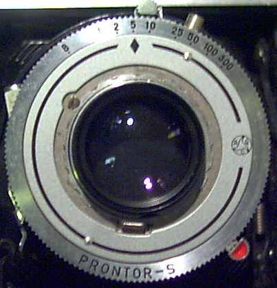 Fig 1. Shutter after focus ring removed